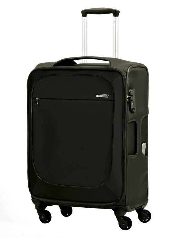 B'Lite Xtra : 55cm Spinner Wheeled Carry-On - Black : Samsonite