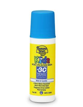 Banana Boat Kids SPF 30+ Roll On 75ml