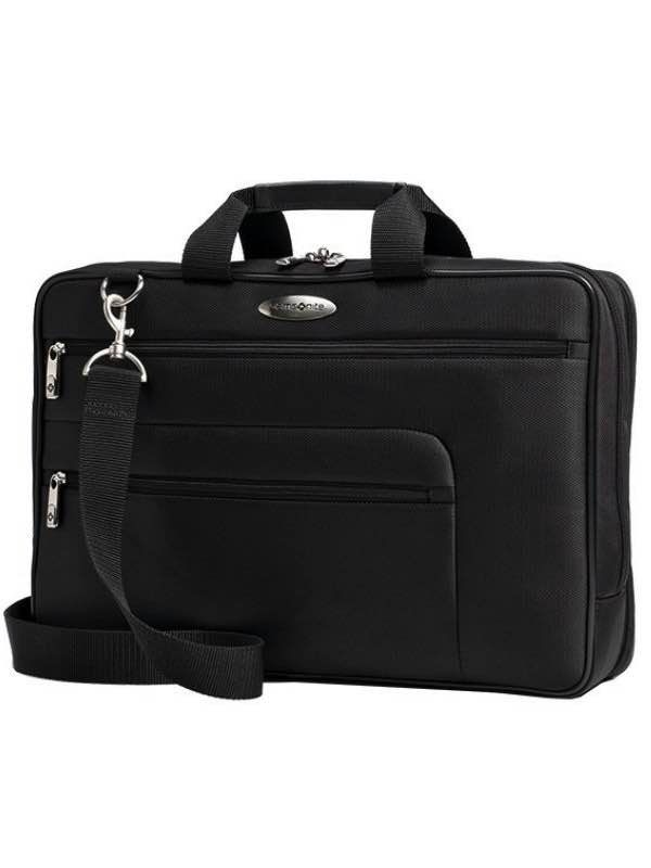 Business SPL : Portfolio Laptop Case - Black : Samsonite
