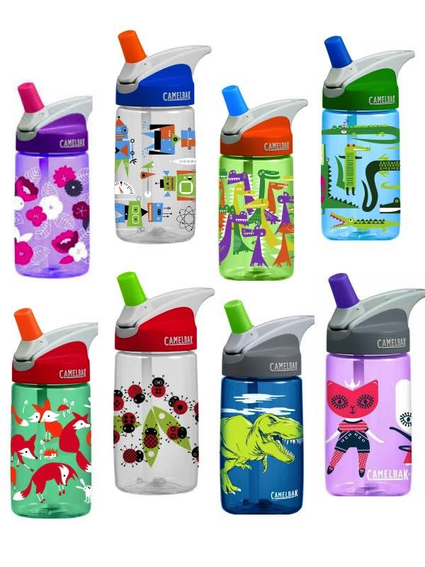 Camelbak : Eddy Kids Bottle 400ML : 14 Designs Available