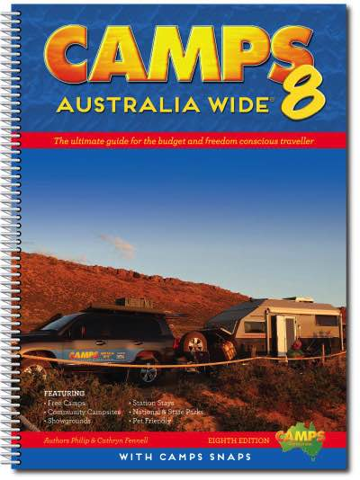 Camps Snaps : Camps Australia Wide 8 : B4 Spiral Bound (Pre-Order)