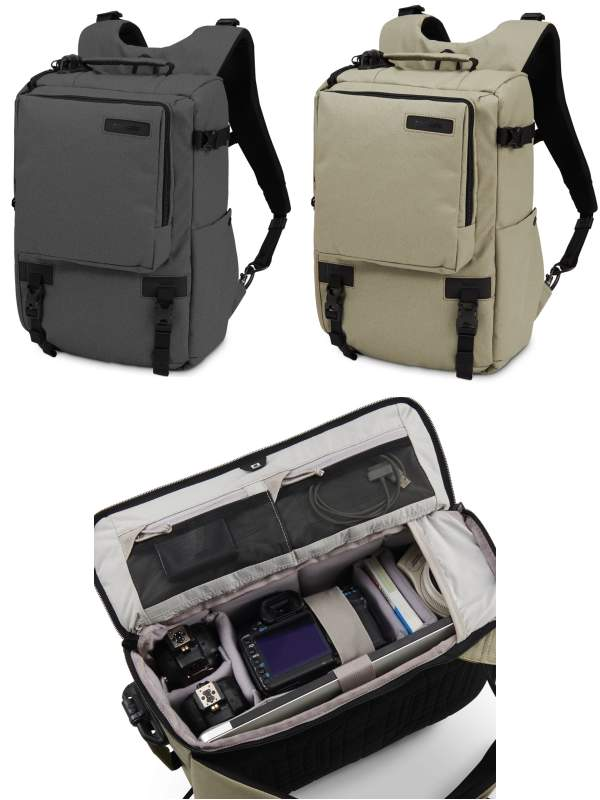 Camsafe Z16 : Anti-Theft Camera and Laptop Backpack : Pacsafe