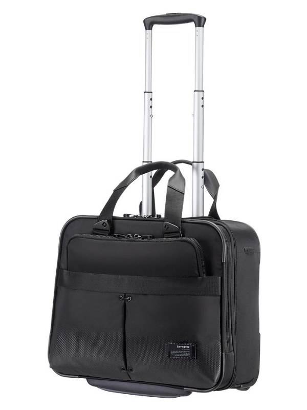 City Vibe : Rolling Tote - Jet Black : Samsonite