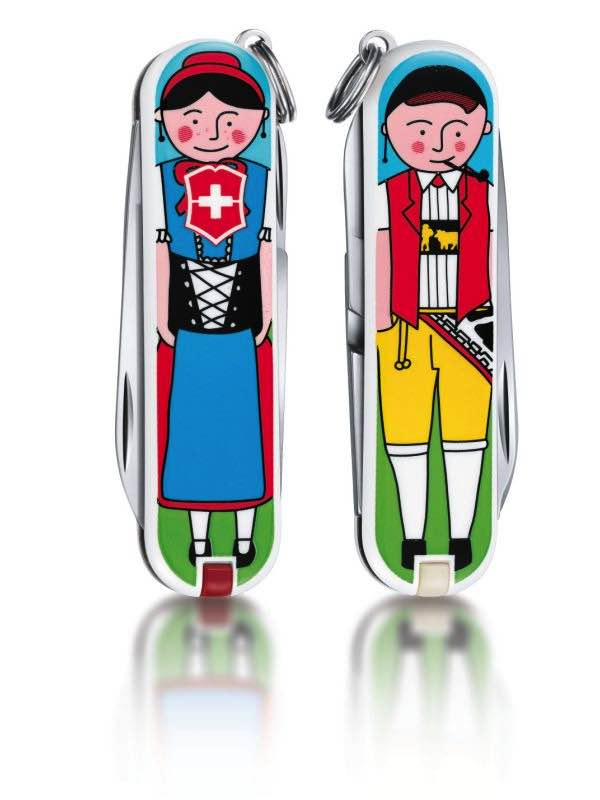 Classic Swiss Army Knife : Appenzeller Limited Edition : Victorinox
