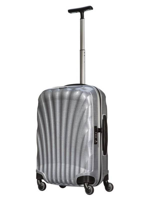 Cosmolite FL : 55 cm Spinner Wheeled Carry-On - Silver : Samsonite