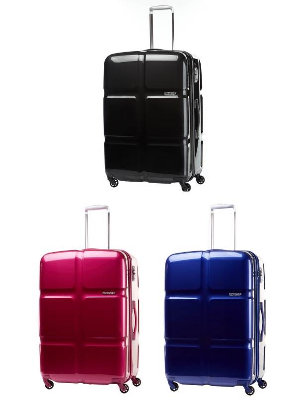 Cubepop : 55cm Spinner Wheeled Carry-On : American Tourister