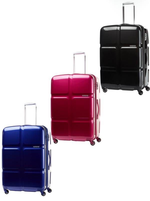 Cubepop : 68cm Spinner Wheeled Upright : American Tourister