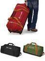 Pacsafe Duffelsafe AT120 : Wheeled Adventure Duffel Bag