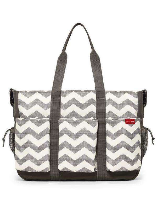 Duo Double - Hold it All Nappy Bag - Chevron : Skip Hop