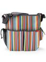 Duo Deluxe Nappy Bag - Metro Stripe : SkipHop