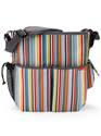 Duo Deluxe Nappy Bag - Metro Stripe : SkipHop