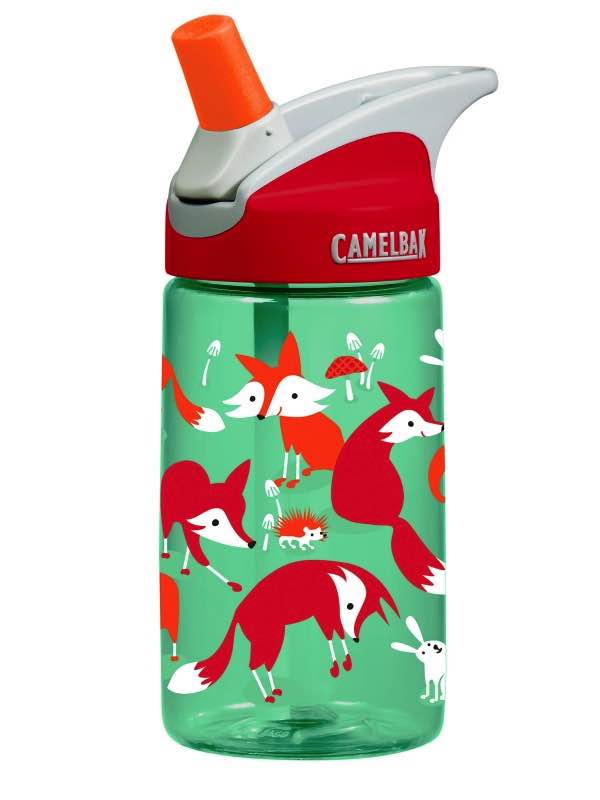 Eddy Kids Camelbak Bottle 400ML - Foxes