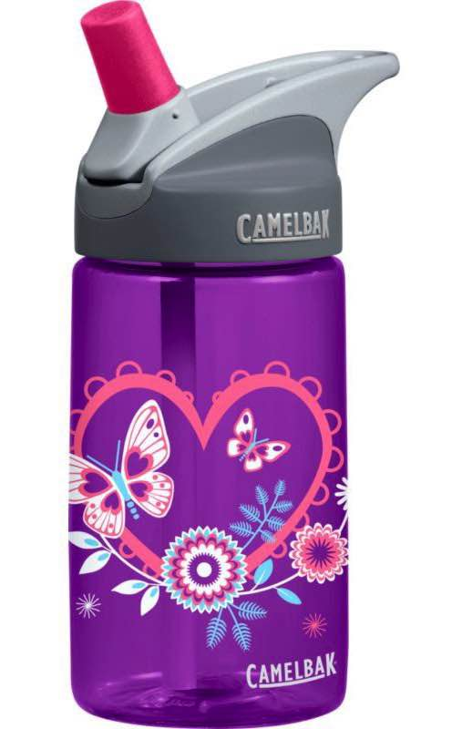 Eddy Kids Bottle 400ML - Hearts : Camelbak
