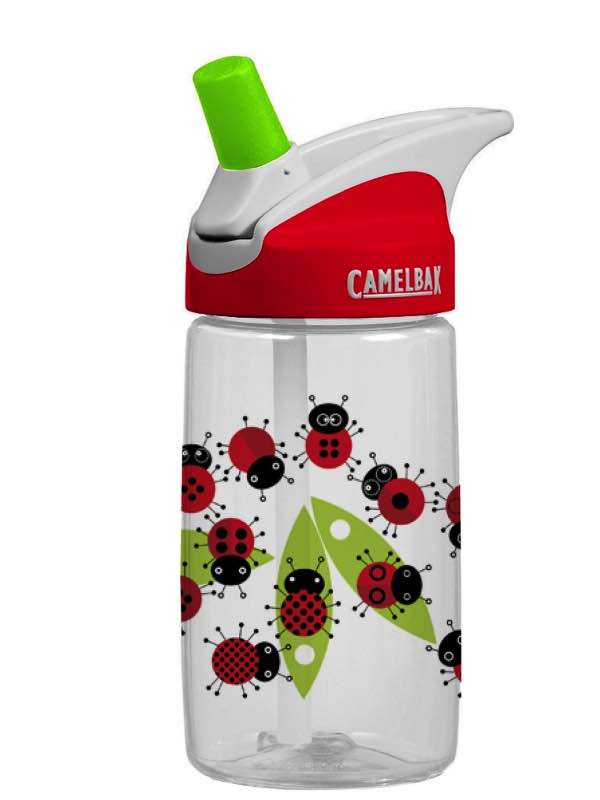 Camelbak Eddy Kids Bottle 400ML - Ladybugs