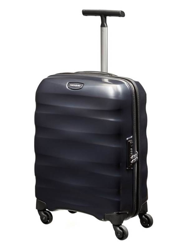 Engenero : 55cm Spinner Wheeled Carry-On - Black : Samsonite