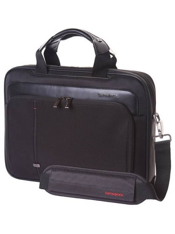 Essence Pro : Medium Laptop Briefcase - Black : Samsonite