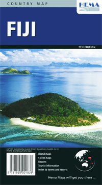 Fiji : 7th Edition : Hema Map