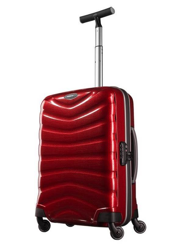 Firelite : 55 cm Spinner Wheeled Upright - Chilli Red : Samsonite