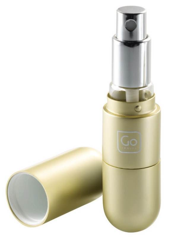 Fragrance Atomiser - Gold : Go Travel