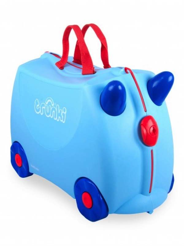 George - Ride on Suitcase - Blue : Trunki