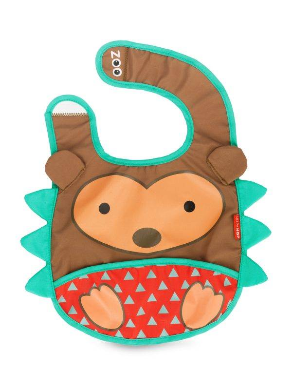 Hedgehog Zoo Tuck-Away Bib : Skiphop