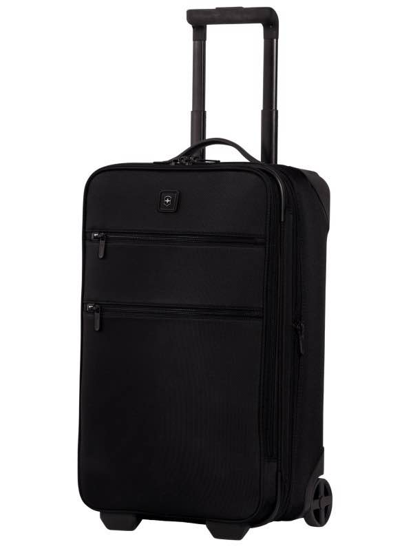 Lexicon : 22 Expandable Wheeled Carry-On - Black : Victorinox