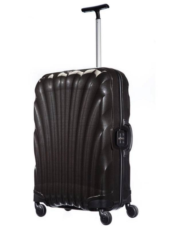 Lite-Locked : 69 cm Spinner Wheeled Upright - Black : Samsonite
