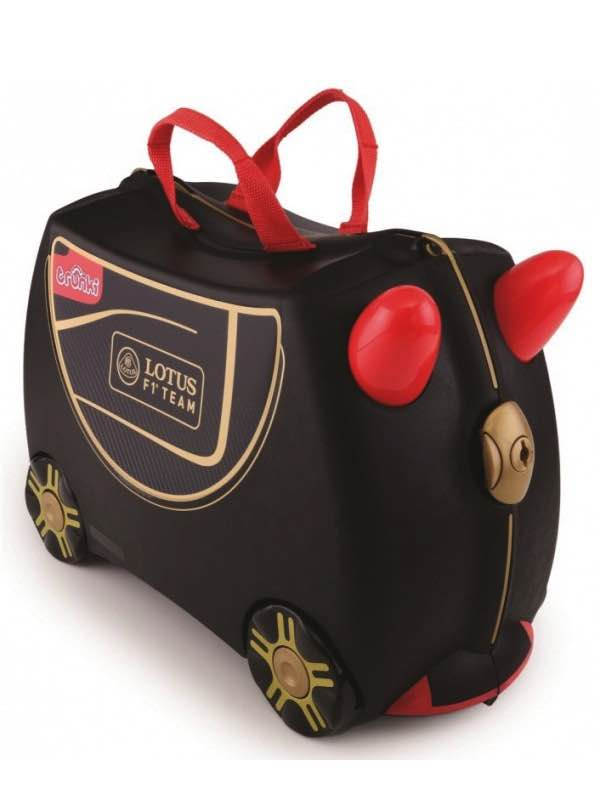 Lotus F1 - Ride on Suitcase - Black : Trunki