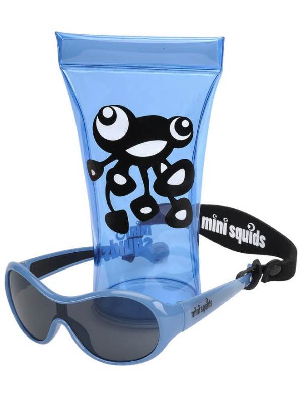 Mini Squids : Kids Sunglasses - Light Blue