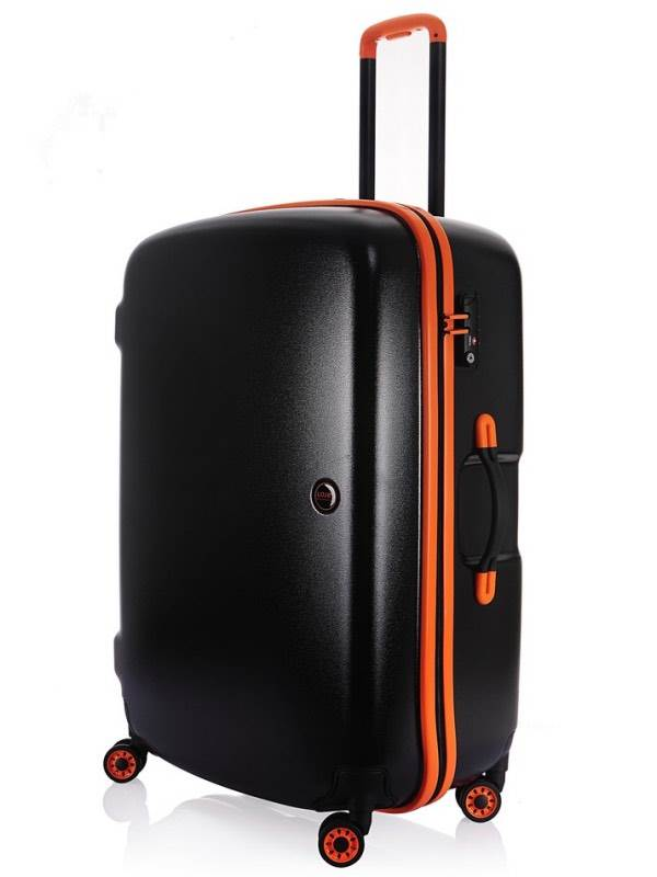 Nimbus : 67cm 4 Wheel Rainproof Upright : Black / Orange : Lojel