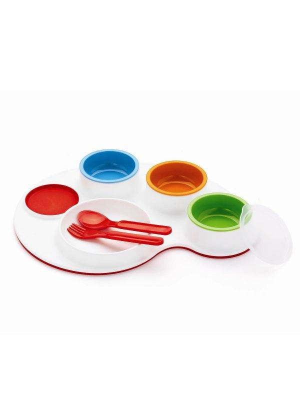 Palette Plate 9-pc Feeding Set : SkipHop