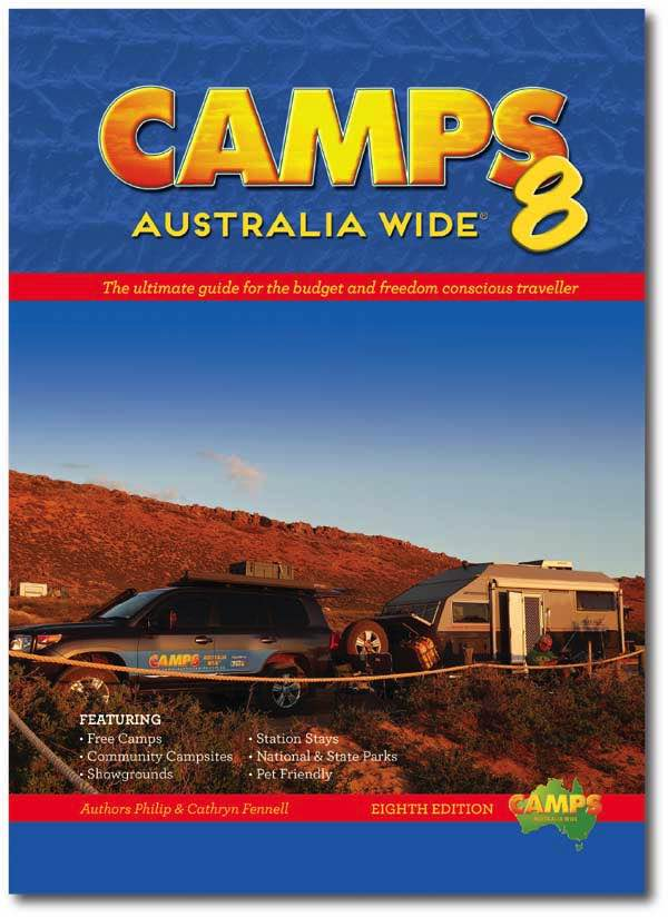 Paperback : Camps Australia Wide 8 : A4 Size (Pre Order)