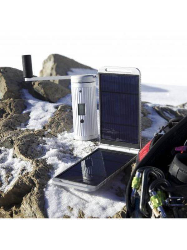 Powermonkey Expedition : Solar / Hand Crank / Battery Pack : Powertraveller