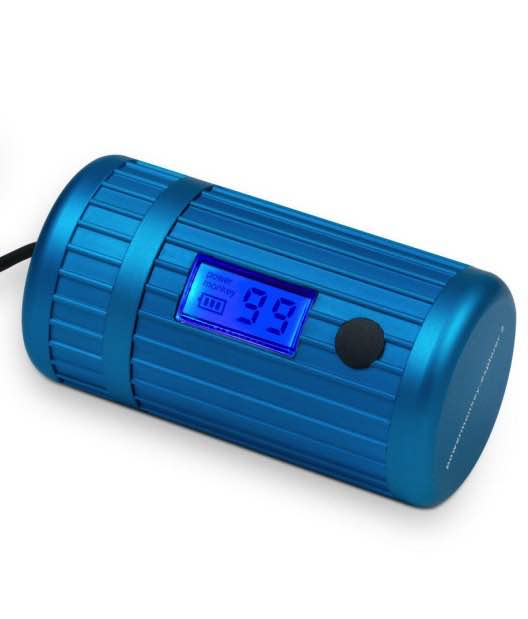 Powermonkey Explorer 2 : Waterproof Mobile Charger -Blue : Powertraveller