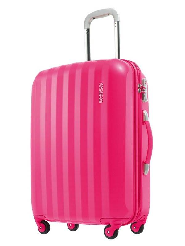 Prismo : 55cm Spinner Wheeled Carry-On - Magenta : American Tourister