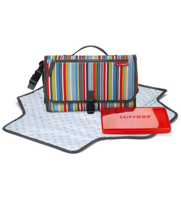 Pronto - Mini Changer - Metro Stripe : SkipHop