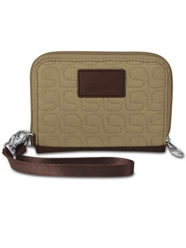 RFIDsafe W150 : Women's RFID Blocking Organiser - Rosemary : Pacsafe