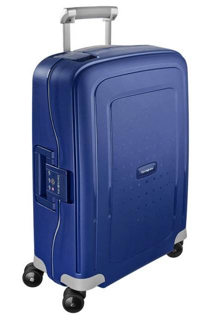 S'Cure : 55 cm Spinner Wheeled Upright - Dark Blue : Samsonite