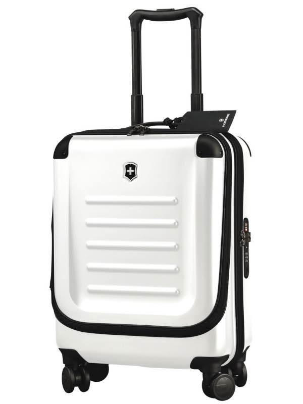 "Spectra 2.0 : 22"" / 55cm Dual-Access Global Carry-On - White : Victorinox"