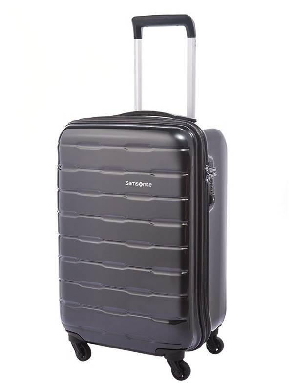 Spin Trunk : 55 cm Spinner Wheeled Carry-On - Charcoal : Samsonite