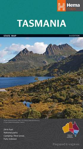 Tasmania State Map - Edition 3 : Hema