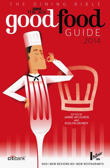 The Age Good Food Guide 2014 : Cover View