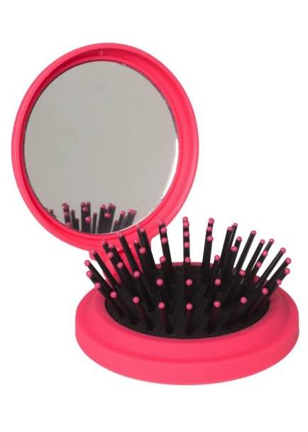 The Wet Pop Up Hair Brush - Pink : Silver Bullet