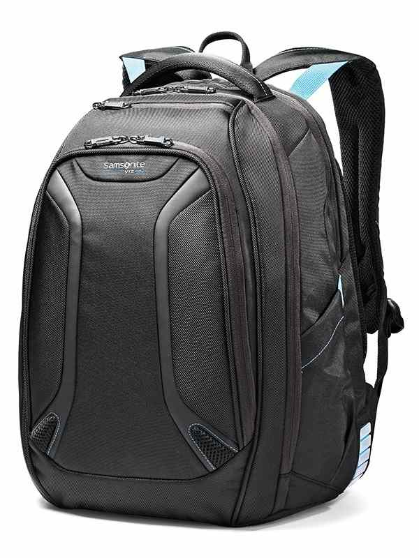Viz Air : Laptop Backpack - Black / Electric Blue : Samsonite