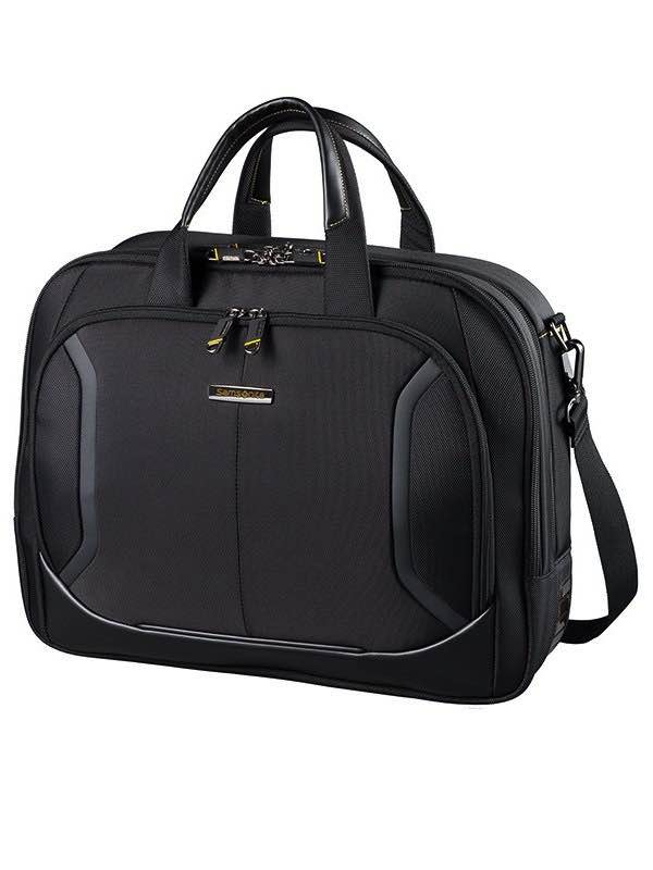 Viz Air Plus : Medium Laptop Briefcase - Black : Samsonite