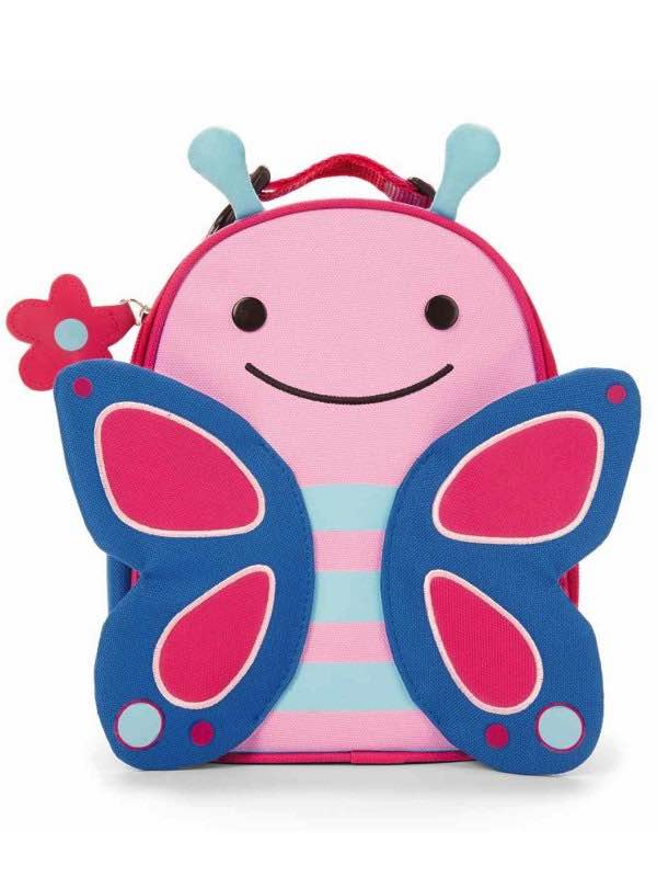 Zoo Lunchies - Insulated Lunch Bags - Butterfly : SkipHop
