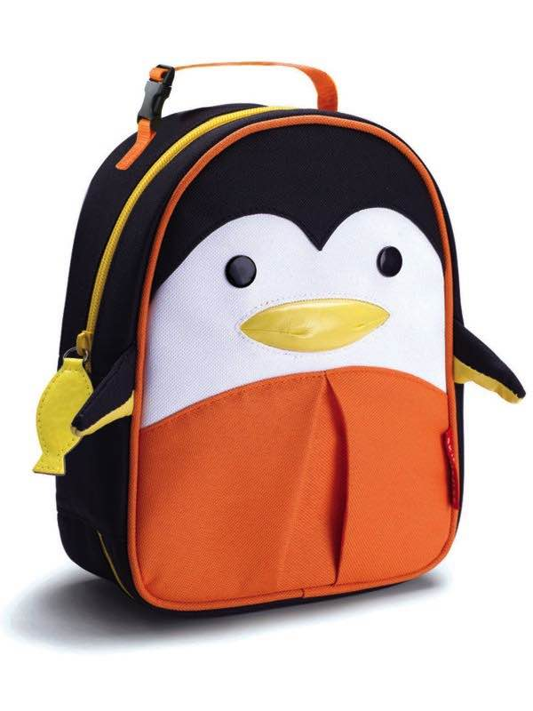 Zoo Lunchies - Insulated Lunch Bags - Penguin : SkipHop