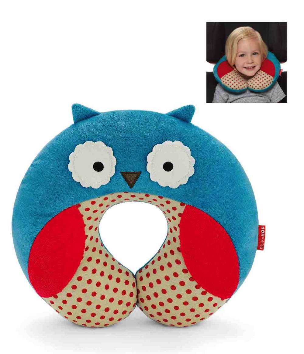Zoo Neckrest - Little Kid Travel Neckrest - Owl : Skip Hop