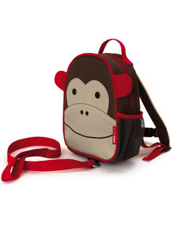 Zoo Safety Harness - Mini Backpack with Rein - Monkey : SkipHop