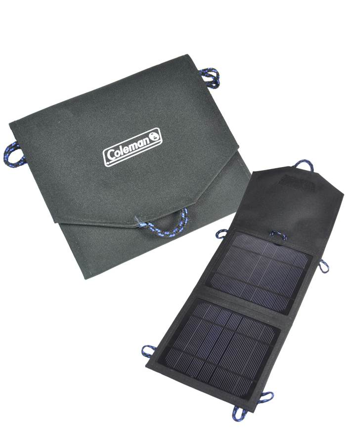 7.5 Watt Folding Solar Charger - For use with mobile phones, digital cameras & GPS systems : Coleman